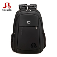 Waterproof Airbag Men Laptop Backpack Korean Men S 15 6 17 17 3 Inch Computer