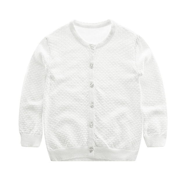 Cotton Baby Boys Sweater Soft Comfortable Cardigan For Girls Long