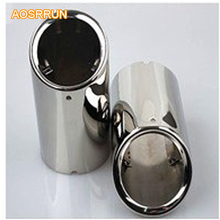 AOSRRUN Free shipping! 2009-2013 2012 1.6 1.8 2.0 For Skoda Octavia Stainless steel pipe tail pipes