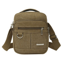 Fashion Men Shoulder Crossbody Bag High Quality Canvas Handbag Backpack Casual Travel Bags Men Messenger