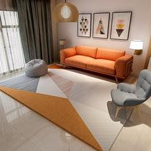 Скандинавский ковер для гостиной, современные декоративные коврики для спальни, дивана, журнального столика, коврик из полипропилена, ковры для Кабинета