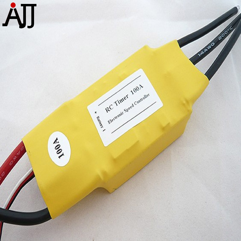 Rctimer 60A 80A 100A Brushless ESC Electronic Speed Controller for FPV Racing Quadcopter RC Multi-rotor Motors