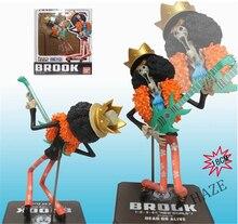 Hot Anime One Piece New World Brook POP Pirate Figure Figurine 7″ New In Box