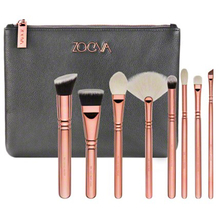 BRAND Luxury ZOEVA Rose Golden 3 makeup brushes Professional Powder essential make up brushes set cosmetic brush