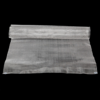1pc 304 Stainless Steel Woven Wire Mayitr 50 Mesh Silver Filtration Cloth Screen 40 X 90cm