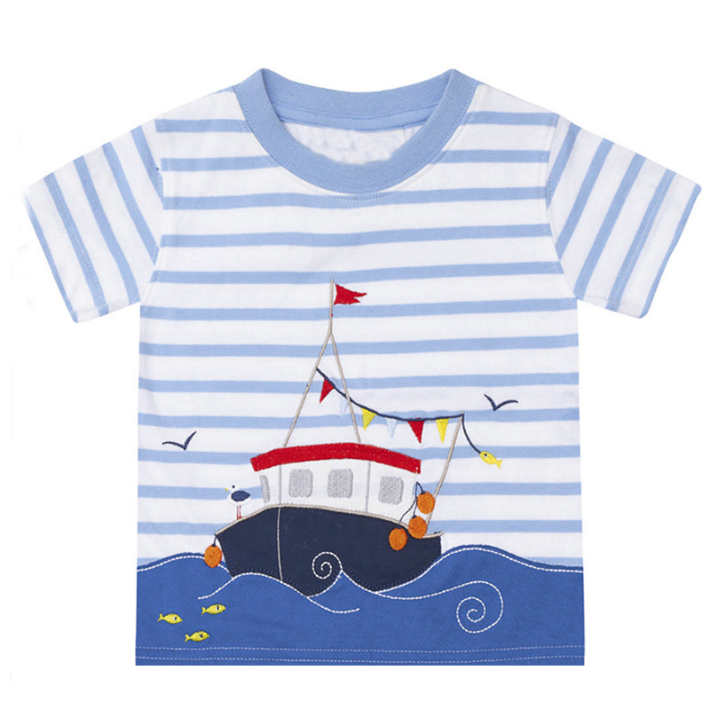 Boys T Shirt 100% Cotton Boys Short Sleeve Shirts for Children Clothing  Print Character Kids T-shirt Enfant Garcon Boys Clothes - us321 d7d789a4850
