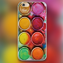 Painting box Design black skin case cover cell mobile phone cases for Apple iphone 4 4s