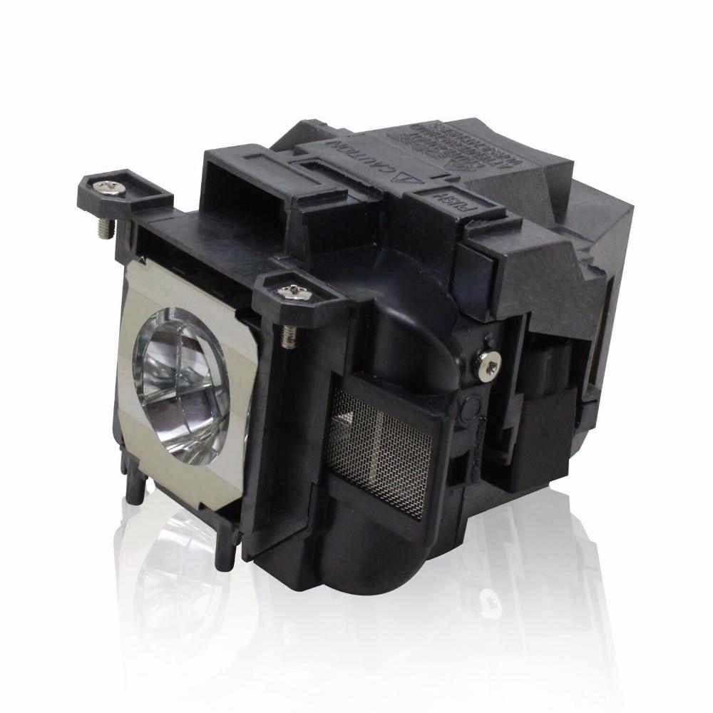 EB-X03 EB-X18 EB-X20 EB-X24 EB-X25 EH-TW490 EH-TW5200 EH-TW570 EX3220 EX5220 EX5230 Projector Lamp ELP78  V13H010L78