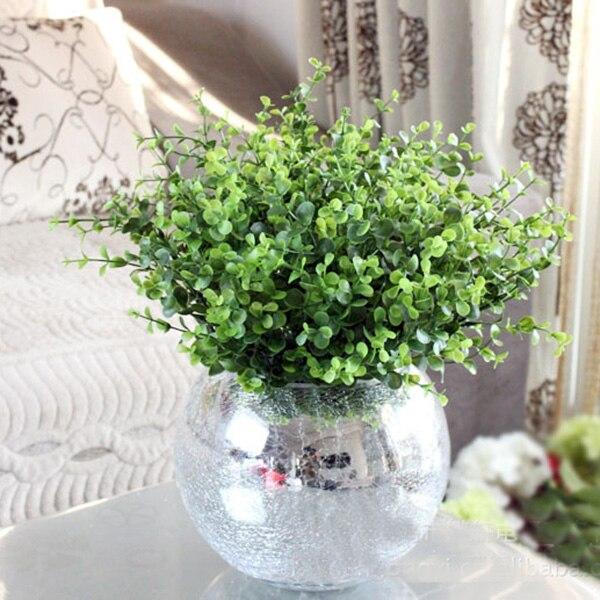 Trendy Hadiah Pesta Pernikahan Bridal Tanaman Taman Buatan Hijau Daun  Tanaman Anggrek Sale Home Decor 5e5b235f45