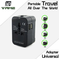 Vrme USB Charger Travel Adapter AC Power Mini Portable Universal Charger Converter Electrical Socket US UK