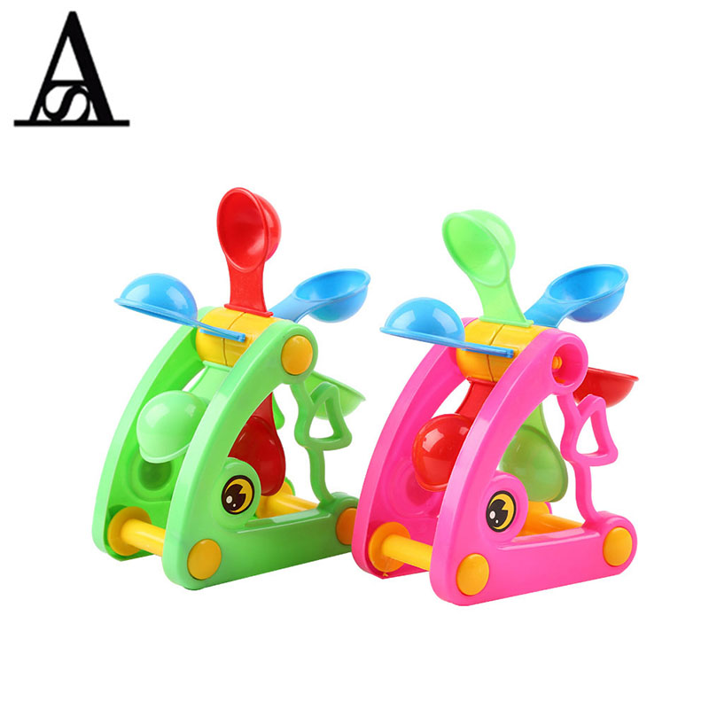 Aitesen Baby Playing Sand Dredging Tools Waterwheel Kids Sand Beach Toy Classic Fun Outdoor Beach Play Funny Sand Toy Puzzle Toy