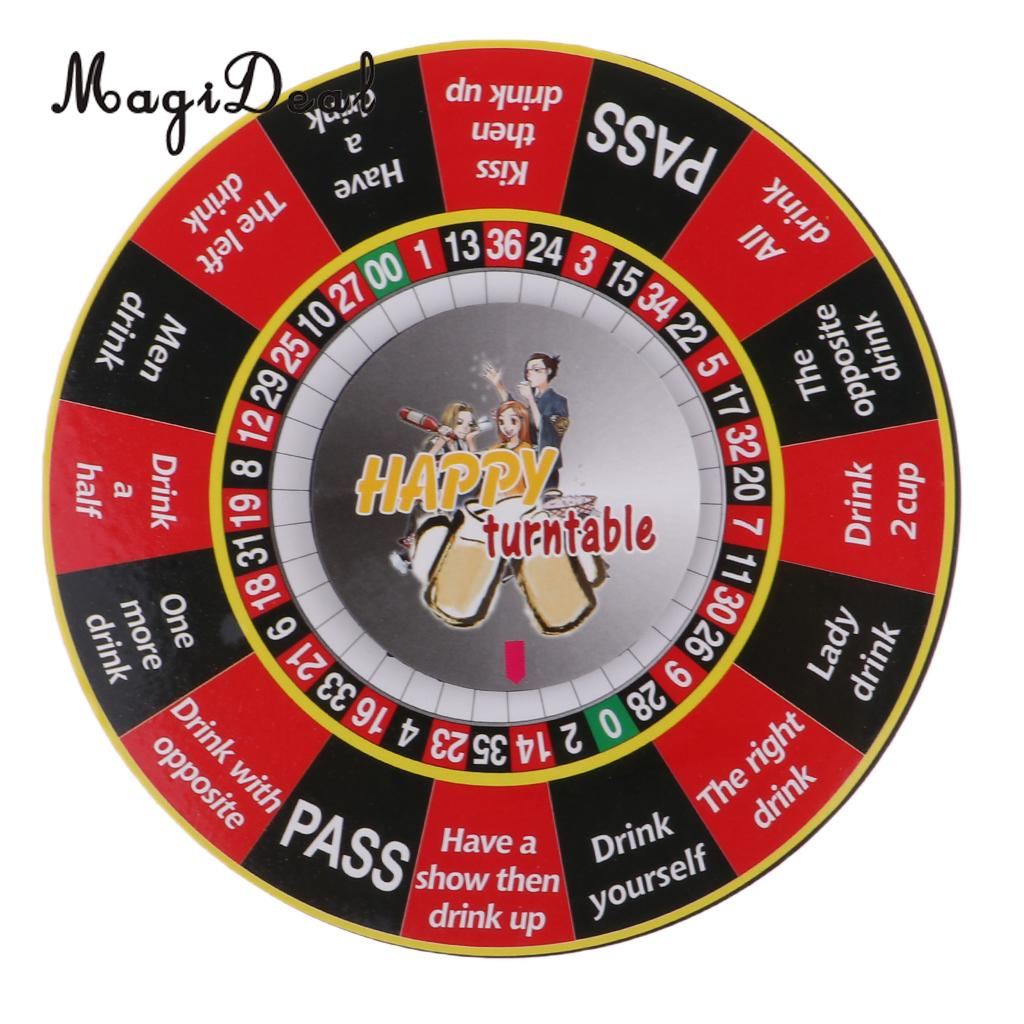 Magideal Electric Turntable Roulette Drinking Game Spinning Wheel For Bar Pub Club Ktv Friend Family Party Novelty Toy Gags Practical Jokes Aliexpress