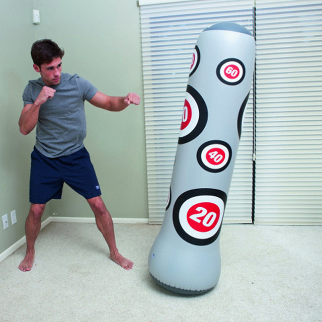 Multifunction Portable Fitness Sports Punching Bag For Children S Durable Multi Layer 25mm Pvc Easily