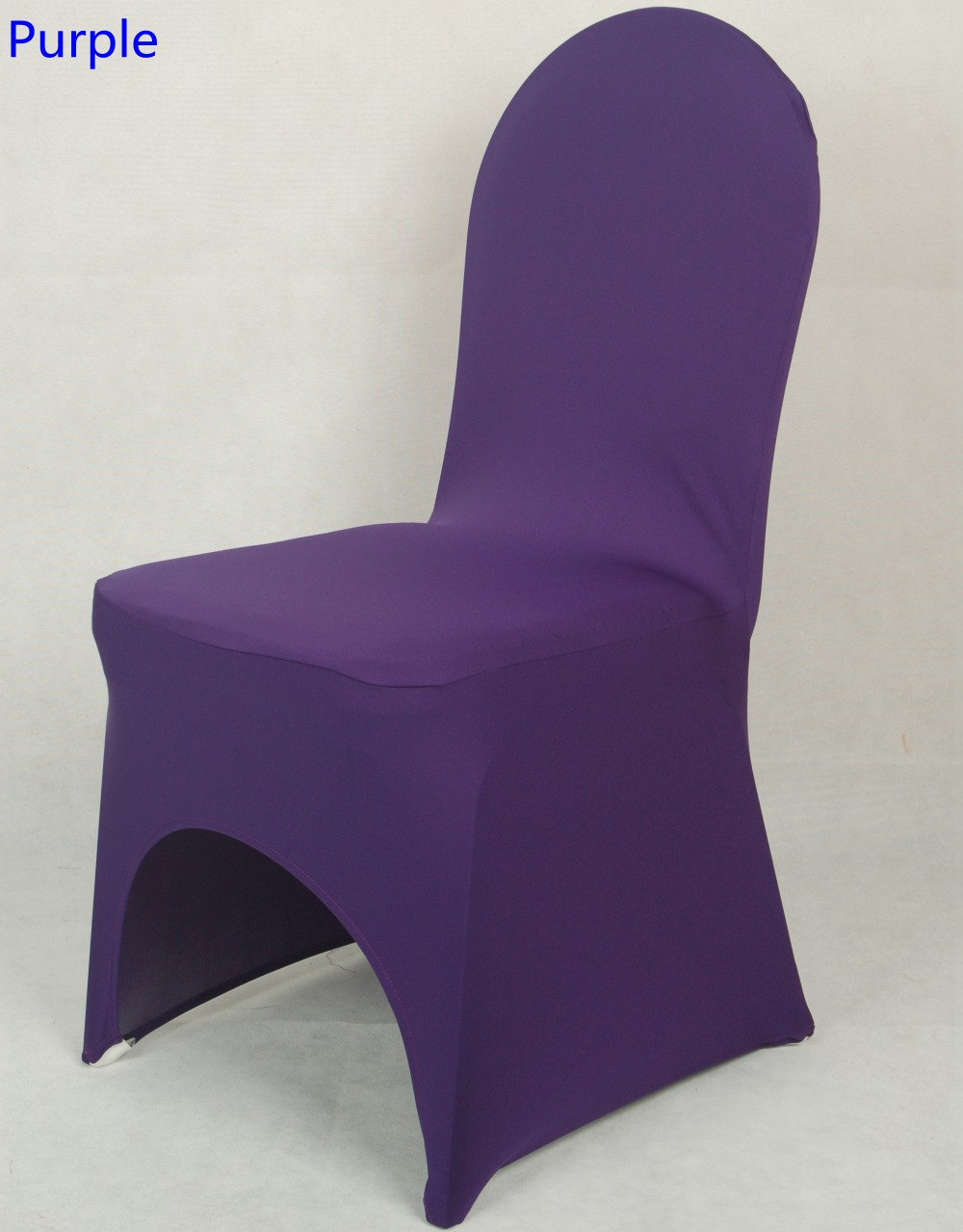 Chair Cover Purple Colour Lycra Chair Cover For All