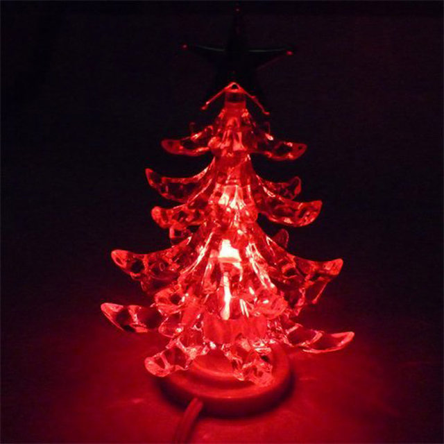 usb christmas tree decorations led lighting slow rgb light colorful changing led xmas kids merry christmas tree star toy lights