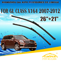 "Wiper Blades Para MERCEDES BENZ CLASSE GL X164 (2007-2012) 2008 2009 2010 2011 Car Windscreen Windshield Wiper Wiper Blade 26 ""+ 21"""