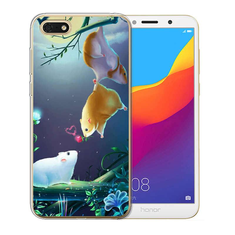 Huawei 社の名誉のための 6X 7 7X 7C 7A プロ 8 Lite 9 10 ノヴァプラス 2 3 ケースカバージョーカー coque 小箱フラミンゴないタッチ私電話