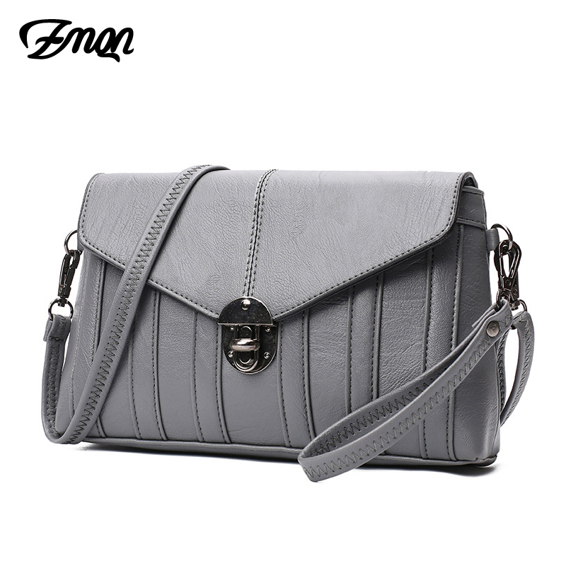 ZMQN Women Messenger Bags 2018 Leather For Sale Famous Brand Grey Small Women's Clutch Cheap Crossbody Bag High Quality New A519 zmqn women shoulder bag candy colors fashion handbags brand small leather crossbody bags for women messenger bag girl zipper 507