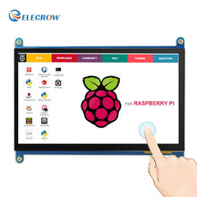 Discount! Elecrow Raspberry Pi 3 Touch Screen 7 Inch LCD Display HDMI 1024X600 7″ IPS Monitor HD TFT for Raspberry Pi 3 2B B