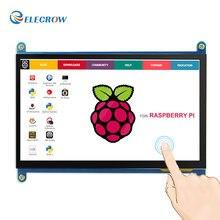 Discount! Elecrow Raspberry Pi 3 Touch Screen 7 Inch LCD Display HDMI 1024X600 7″ IPS Monitor HD TFT for Raspberry Pi 3 2B B