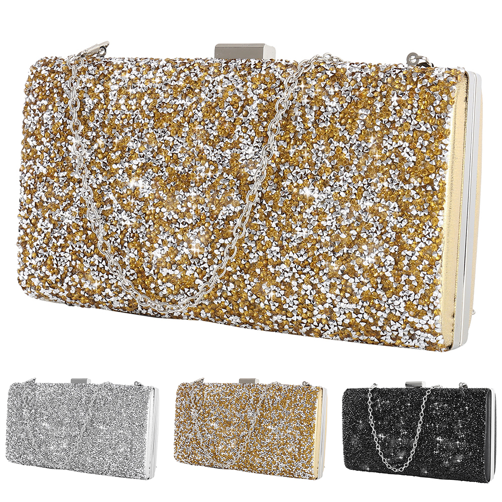 3b70ab9f0 1*Clutch Bag Note: 1,Item Measure by hand, size could be a little  different. 2,Item color displayed in photos may be showing slightly  different on your ...