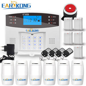Earykong GSM Alarm System Security Alarm Android IOS APP