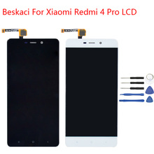 Beskaci For Xiaomi Redmi four Professional LCD Body For Xiaomi Redmi four Professional Prime 3GB RAM LCD Show Contact Display Meeting Alternative