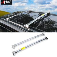 JHO Luggage Roof Rail Rack Cross Bars For 2014 2018 Jeep Grand Cherokee 2015 2016 17 Steel Aluminum Alloy Car Travel Accessories