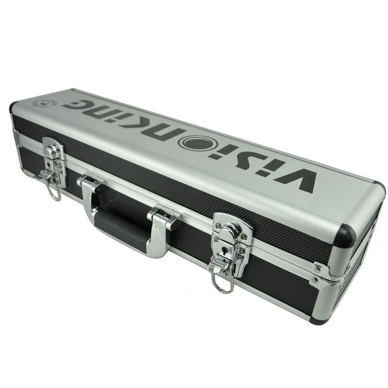 Visionking High Quality Aluminum Hard Carry Case for Rifle Scope Equipment Box Large Capacity Riflescope Suitcase
