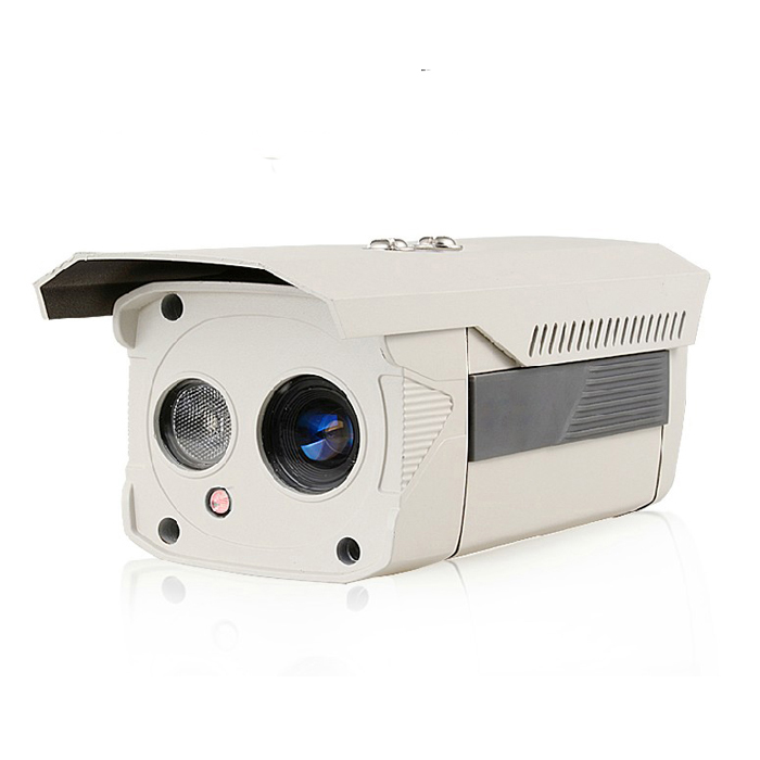 ФОТО 12V2A 1080P HD 2.0MP P2P network security 1IR metal night outdoor IP camera