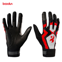 1 Pair Batting Baseball Glove Anti Slip Silicone Elastics Sports Gloves Cycling Training Baseball Hitter Gloves