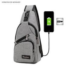 New Arrival Oxford Men Chest Pack Single Shoulder Strap Back Bag Crossbody Bags for Women Sling Shoulder Bag Back Pack Travel