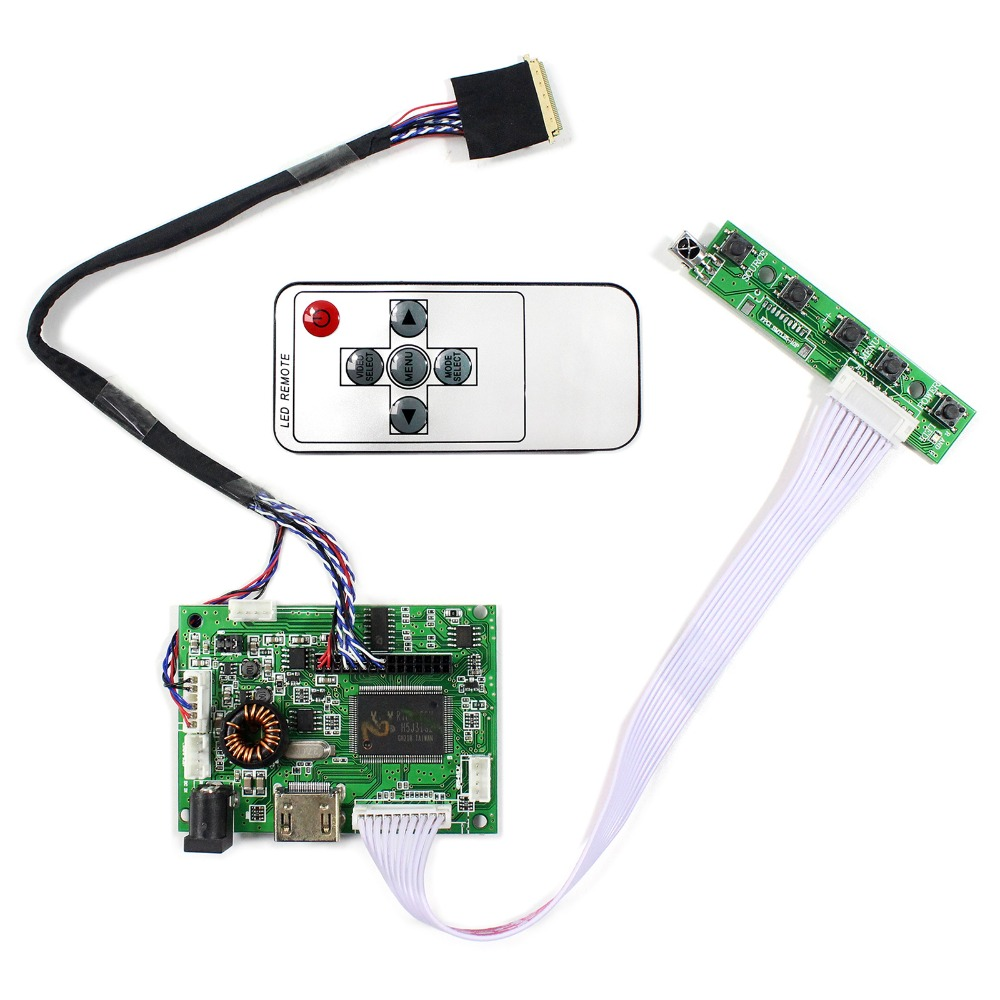 HDMI+Audio LCD Controller Board For 10.1inch 1024x600 LTN101NT02 B101AW06 LP101WSA LCD Screen