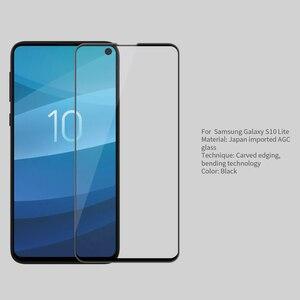 Image 2 - Para Samsung Galaxy S10e vidrio templado Nillkin 3D CP + Max Protector de pantalla de cubierta completa para Samsung Galaxy S10 Lite