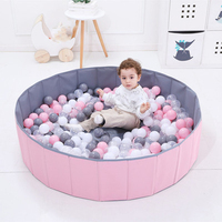 400 Pcs/Set Outdoor Sports Plastic Ocean Balls Baby Eco Friendly Colorful Water Entertainment Colorful Pool Balls Kids Game Gift
