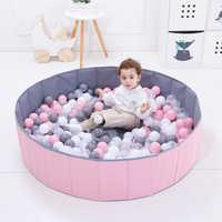 400 pièces/ensemble Sports de plein air en plastique océan balles bébé écologique coloré eau divertissement coloré piscine balles enfants jeu cadeau