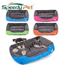 Kvalitní teplý obdélníkový pelech pro psy ve více barvách