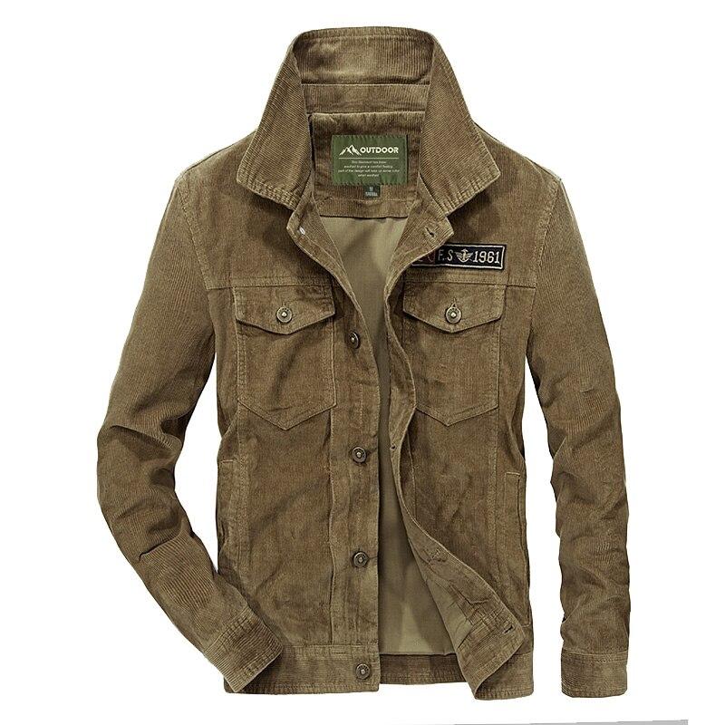 Erkek Kıyafeti'ten Ceketler'de Tasarımcı erkek Kadife Ceket Moda Katı Turn Down Yaka Palto Artı Boyutu Rahat Ceket Ceket Erkekler Için Ourwear 4xl BF58131'da  Grup 1