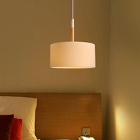 A1 Nordic New Simple Lighting Modern Living Room Dining Room Study Bedroom Bed Warm Single Head