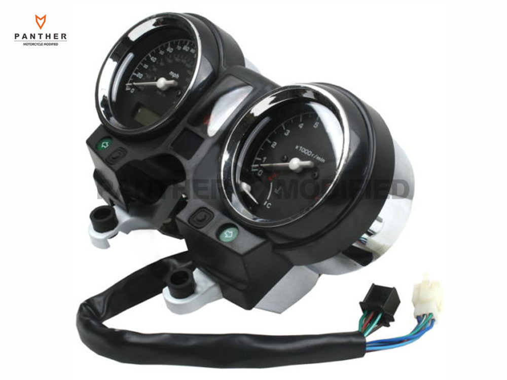 Motorcycle Gauges Speedometer Tachometer Speedo Moto Tacho Instrument clock case for HONDA Hornet900 CB900 CB919F 2002 2007