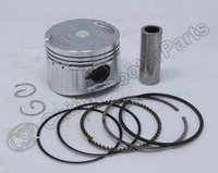 52.4MM Piston Ring Kit 125CC 153QMI KEEWAY ARN125 Genric 125 GT F ACT 125 Matrix 125 Scooter Parts