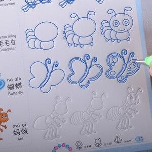 Image 4 - Neue Nut Tier/Obst/gemüse/anlage Cartoon Baby Zeichnung Buch Färbung Bücher für Kinder Kinder Malerei libros alter 3 9