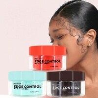 Освежающий Для мужчин женские масло для волос восковой крем край Управление гребень крем для укладки волос сломанной волос отделка волосы ...