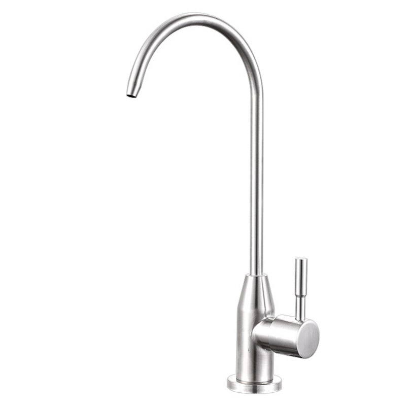 Drinking Water Tap Kitchen Leadfree RO 304 Stainless Steel Faucet Filter Purify System Purified Water Robinet Cuisine Torneira