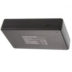 Image 5 - Lcd 트리플 3 배터리 충전기 usb 캐논 LP E6 (n) 6d 5d 마크 ii iii iv 80d 70d