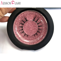 Arison Sexy 100 Handmade 3D Mink Hair Beauty Thick Long False Mink Eyelashes Fake Eye Lashes