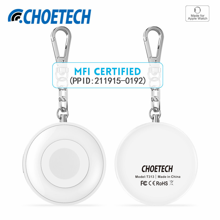 900mAh MFi Certified Wireless Charger Magnetic Charging Docks
