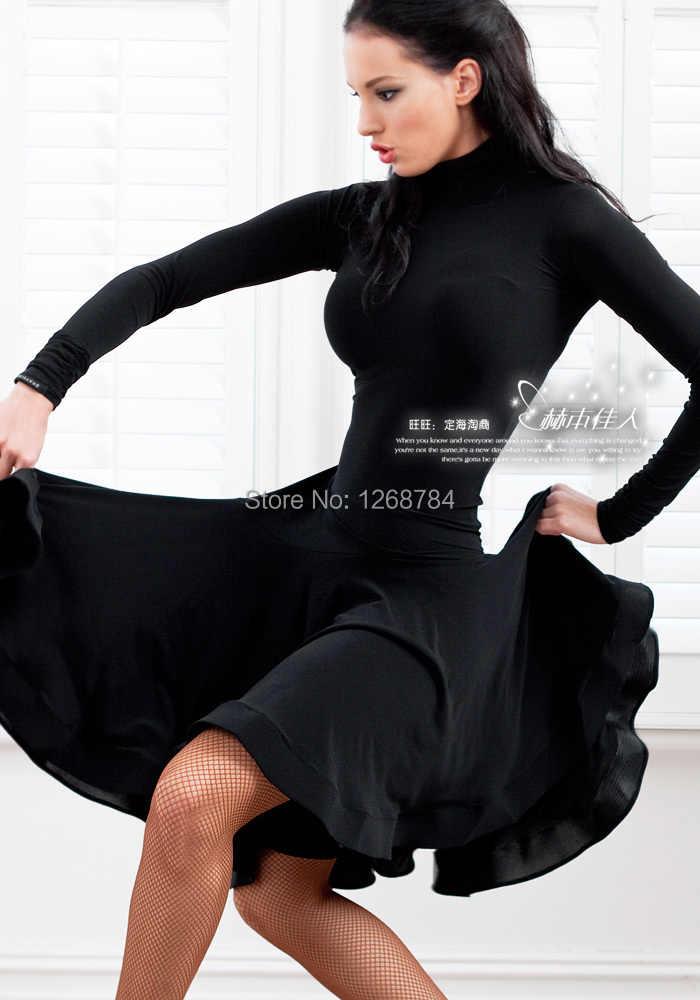 Женское латинское танцевальное бальное платье женская Пышная юбка Сальса Румба Самба Танго Vestido одежда для танца живота костюм с бриллиантами