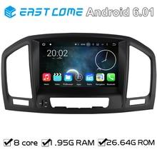 Android 6.0 autoradio DVD Del Coche Para Opel Vauxhall Insignia 2008 2009 2010 2011 2012 2013 Con Núcleo Octa 8 Core Bluetooth GPS Navi