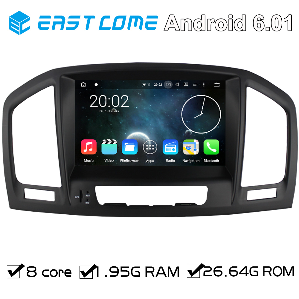 Android 6.0 Car DVD autoradio For Opel Vauxhall Insignia 2008 2009 2010 2011 2012 2013 With Octa Core 8 Core Bluetooth GPS Navi